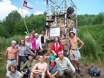 На месте бывшего лагеря ГУЛАГа «Створ»